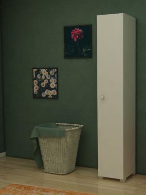 Çan Çiçeği Beyaz Banyo Dolabı