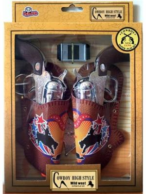 Kovboy 2li Set ve Rozet Oyuncak VAR-N764K/8888