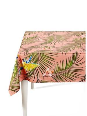 The Mia Parrot Pembe Masa Örtüsü 150 x 150 Cm