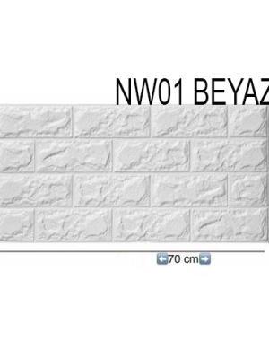 Renk Seçeneği 70x38cm Kendinden Yapışkanlı Dekoratif Panel