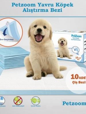 Petzoom Yavru Köpek Çiş Eğitim Pedi 10 adet