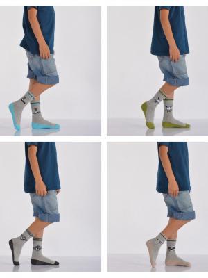 12'Li Top Desenli Erkek Çocuk Soket Çorabı - Karışık