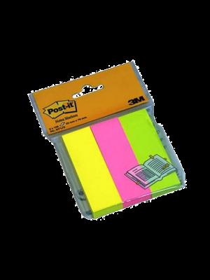 Post-it İndeks 100 YP 25x76 Fosforlu 3 Renk 671-3