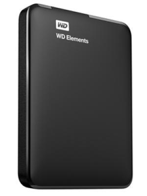 """WD 1TB Elements 2.5"""" Usb3 Siyah WDBUZG0010BBK-WESN"""