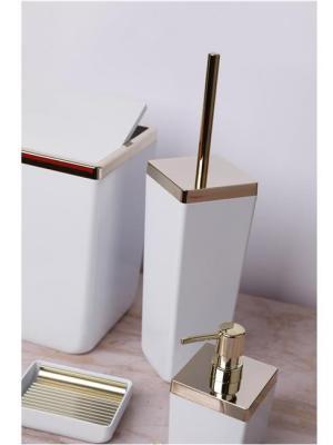 Primanova Toskana Banyo Seti Beyaz Altın Çerçeveli