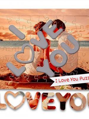 I Love You Puzzle Konservesi