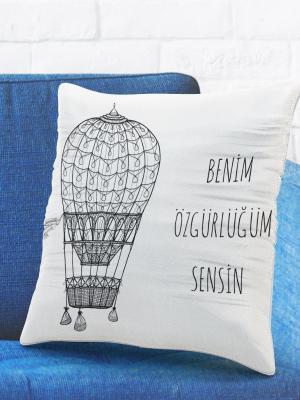 Romantik Tasarımlı Yastık Kılıfı No30