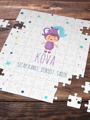 Kova Burcu Temalı 99 Parça Puzzle