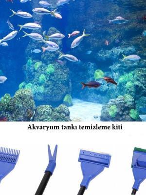 5 in 1 Akvaryum Tankı Temizleme Seti Akvaryum Balığı Bakım Seti