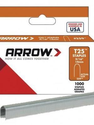 Arrow AR259 14 mm U Tipi Zımba Teli 1000 Adet