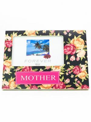 Decotown Mother Çiçek Ahşap Fotoğraf Çerçevesi