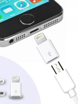 iPhone / iPad Micro Usb Çevirici Adaptör