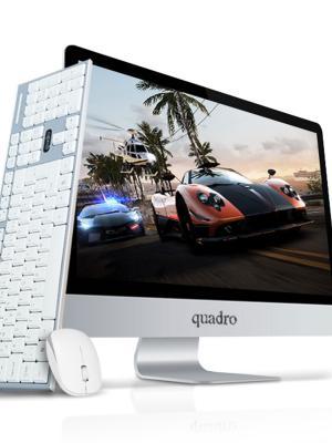 "QUADRO AIO RAPID HM8124-49824 I5-4690T 8GB 240GB SSD 23.8""DOS"
