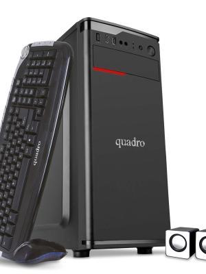 """QUADRO SOLID DHA-34420 I5-3470 4GB 240GB SSD DOS +21.5"""" MONITOR"""