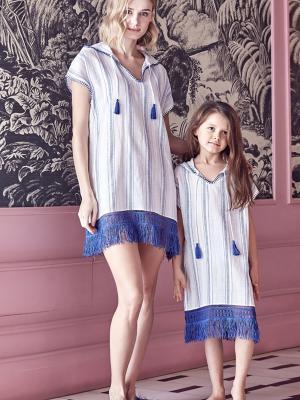 Anıl Bayan Kapüşonlu Tunik Elbise Gecelik An5473