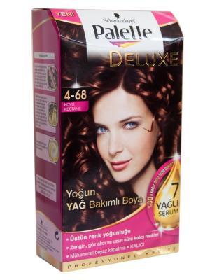 Palette Saç Boyası  4-68 Koyu Kestane