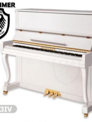 Piyano Konsol Duvar Hofhaimer Fildişi Beyazı HUP123IV