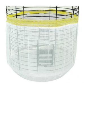 Oval Kuş Kafes Tülü Kapalı 50-100 Cm Renkli