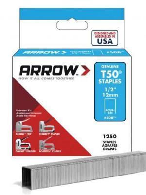 Arrow AR508 12 mm 1250 Adet Profesyonel Zımba Teli