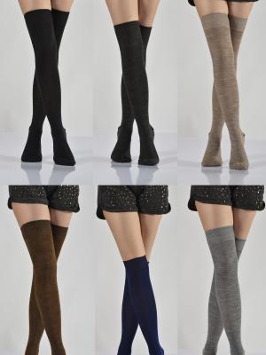 12Li Dizüstü Kadın Çorabı - Karışık