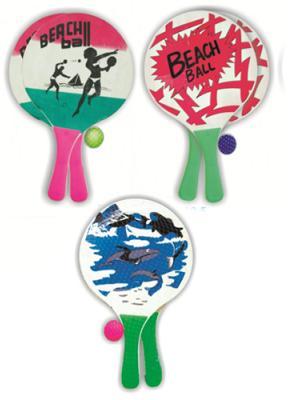 Beachball Tahta Raket