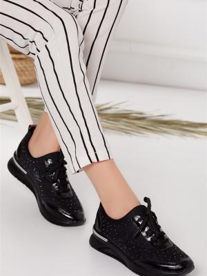 Blanca Ortopedik  Siyah Spor Ayakkabı