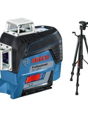 Bosch GLL 3-80 C Lazer Terazi+BT 150 Tripot
