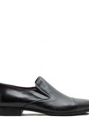 BUFFALO EXCLUSIVE DEER BUFFALO LEATHER BLACK İTALY KÖSELE ENJEKSİYON