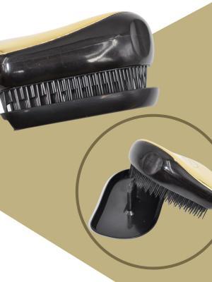Buffer Kapaklı GoldSaç Düzleştirici Tarak Geniş Aralıklı Her Saç Tipine Uygun Saç Düzleştirici