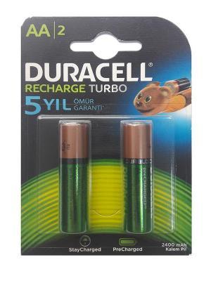 Duracell ޞarj Edilebilir Kalem Pil 2'Lİ AA 2400mAh