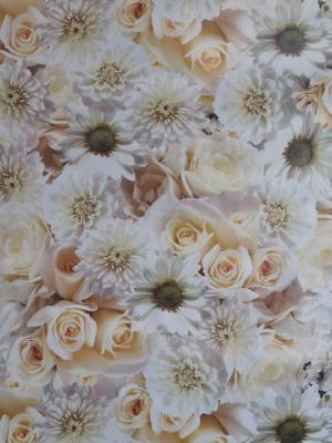 Florista Fotograf Gül Masa Örtüsü 1 Metre