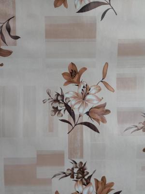 Florista Zambak Kahve Masa Örtüsü 1 Metre