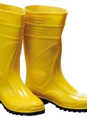 Gezer PVC Uzun Çizme Sarı 45 Numara
