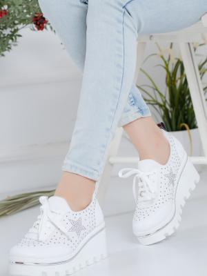 Hayley Ortopedik Beyaz Spor Ayakkabı