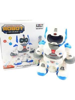 Işıklı Müzikli Dansçı Robot Oyuncak BYK-6678-5