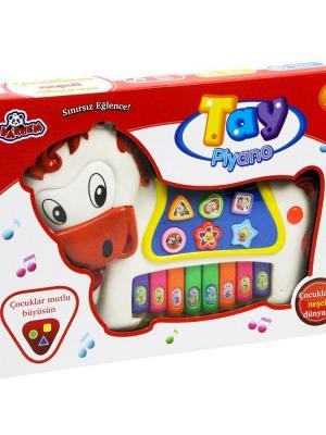 Kutulu Işıklı Tay Piyano Oyuncak VAR-N653/5577