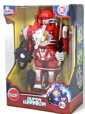 Kutulu Pilli Süper Savaşçı Büyük Robot Oyuncak VAR-N63/797-131/132