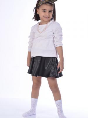 Idilfashion Fileli Kısa Konç Kız Çocuk Çorabı Ç-ART103 (3'LÜ PAKET)