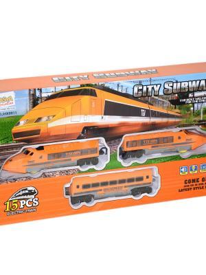 Pilli Sesli Işıklı Express Tren Seti 15 parça Oyuncak ASY-JHX9911/9901