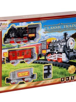 Pilli Sesli Işıklı Klasik Tren Seti 17 Parça  Oyuncak JHX6628/6618