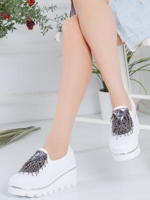 Shelia Ortopedik Beyaz Spor Ayakkabı