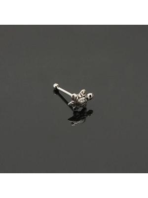 Kaplumbağa Motifli Gümüş Bayan Hızma