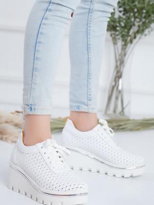 Tracy Ortopedik Beyaz Spor Ayakkabı