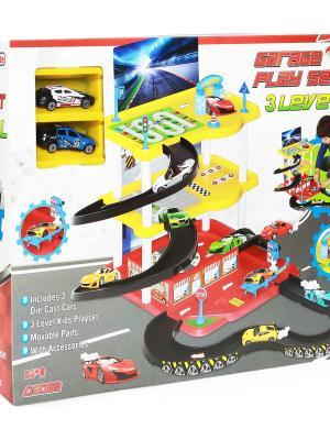 Üç Katlı Garaj Oyun Seti Oyuncak