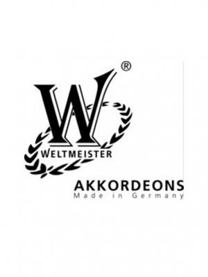 Akordiyon Weltmeister Topas 37/96/III/7/3 Kırmızı 01010590